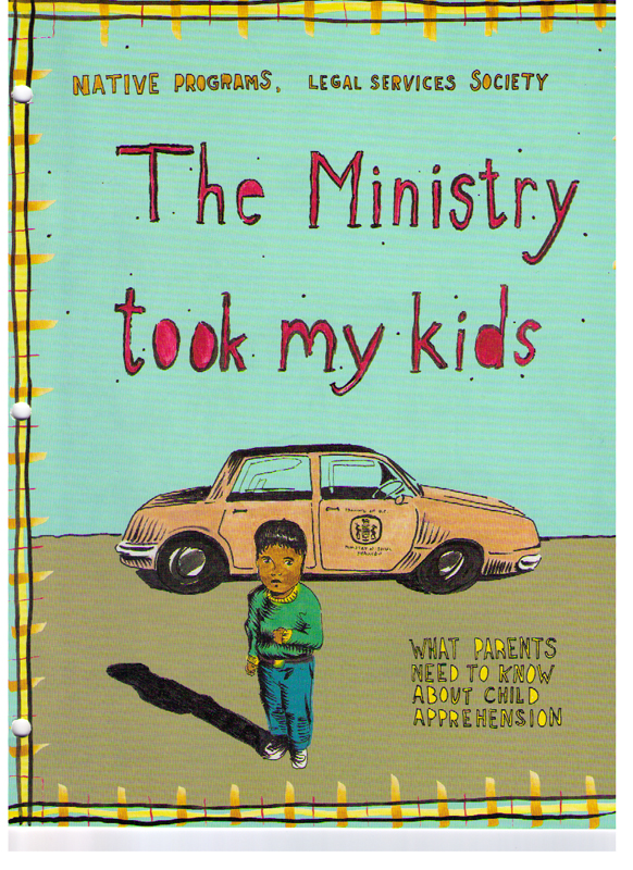 Cover detail of The Ministry Took My Kids