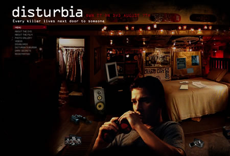 Disturbia film site
