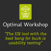 Optimal Workshop – The UX tool with the most bang for buck is usability testing