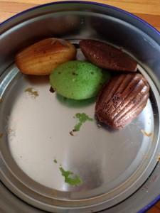Leftover madeleines